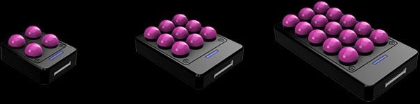 Tactile sensor arrays