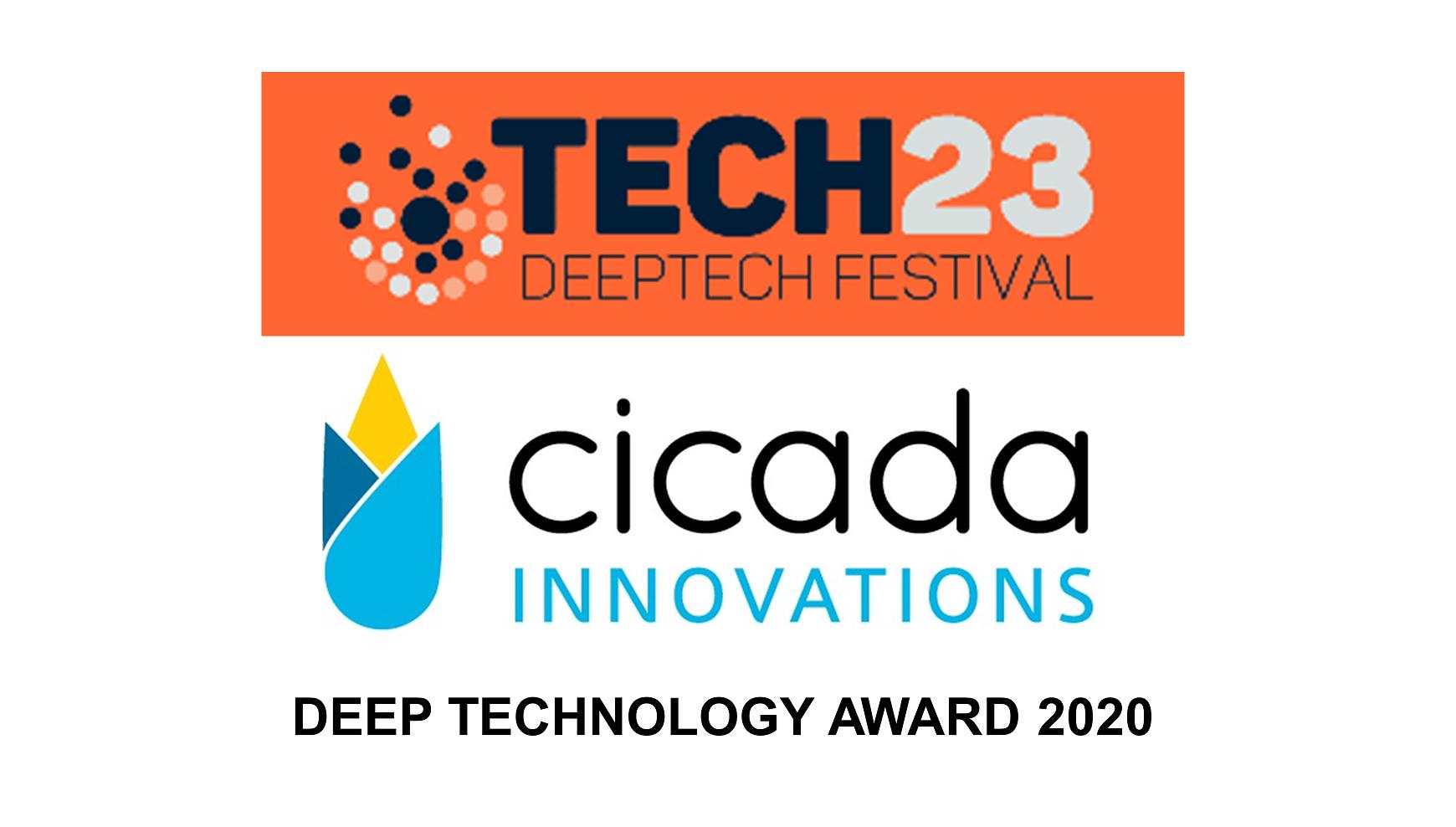 Tech23 Cicada Innovations Deep Technologies Award